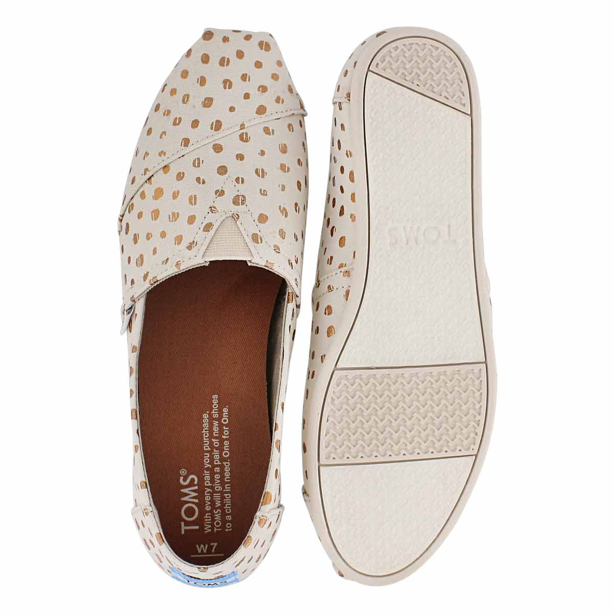 Lds Seasonal Classic natural dot loafer