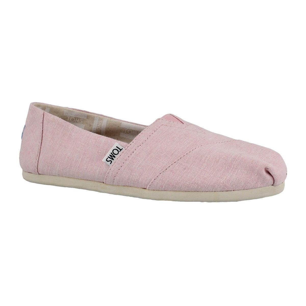 Women's SEASONAL CLASSIC blossom slub loafers