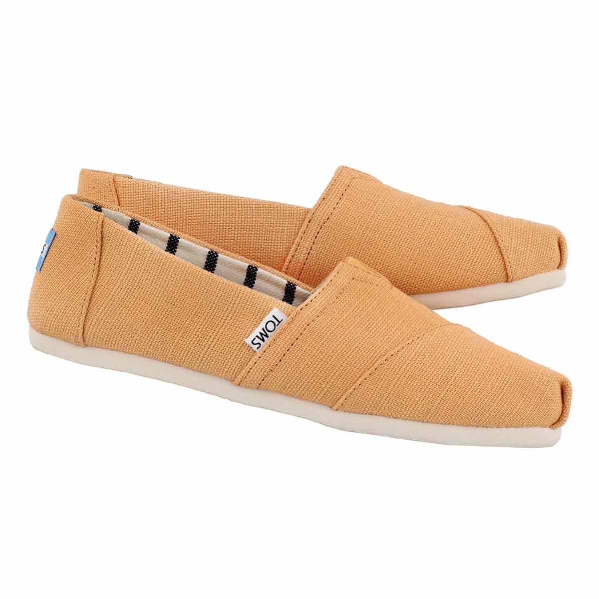 Lds Venice orange mst loafer