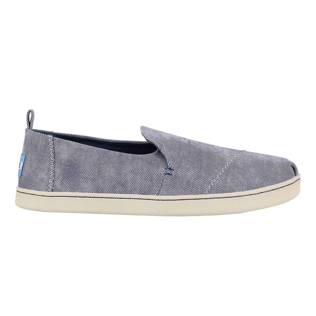 Lds Deconstructed Alpargata blue loafer