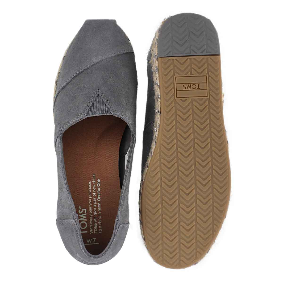 f6397c545ee TOMS Women s PLATFORM ALPARGATA shade loafers