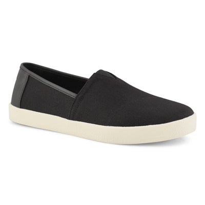 Mns Avalon black casual loafer
