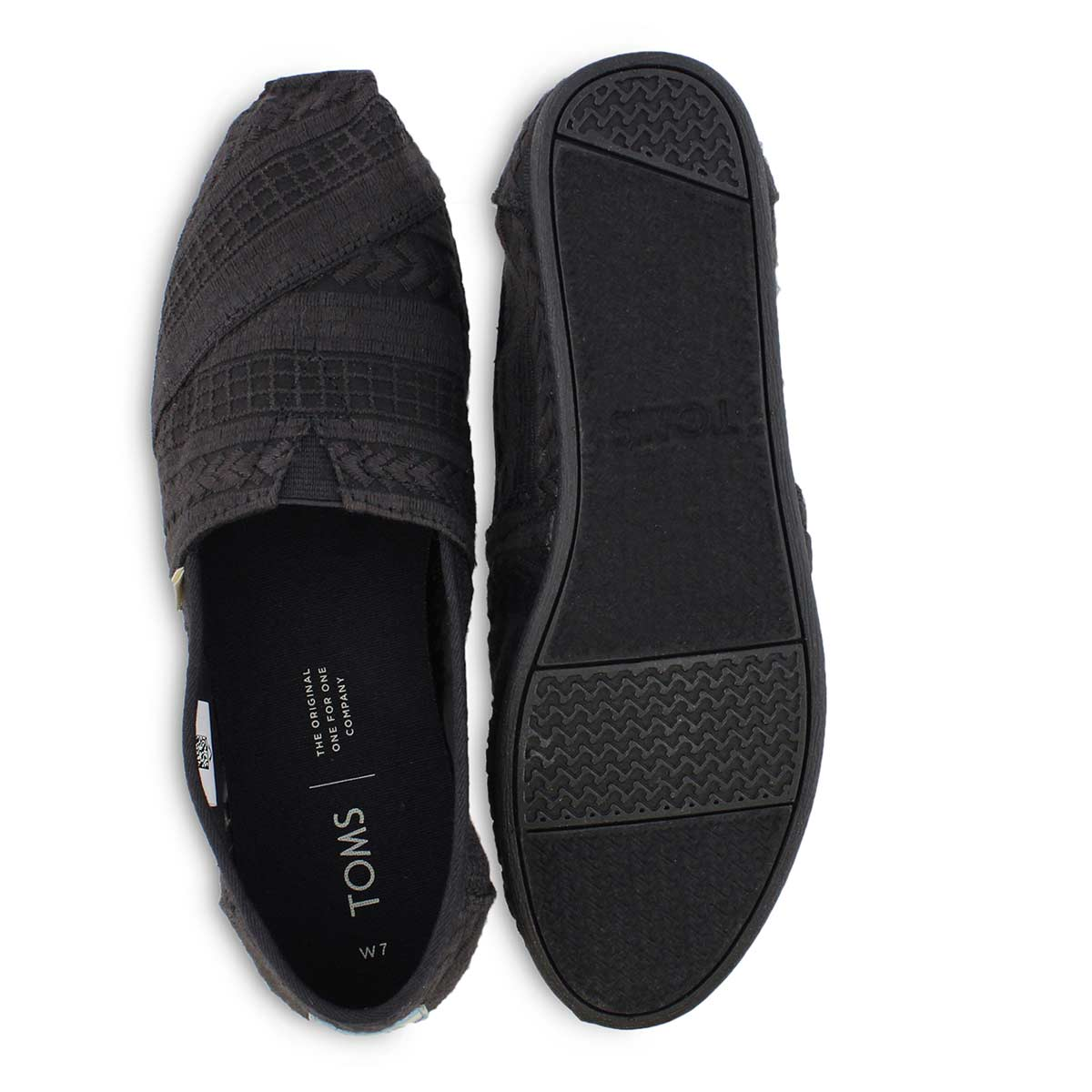 Lds Alpergata black casual loafer