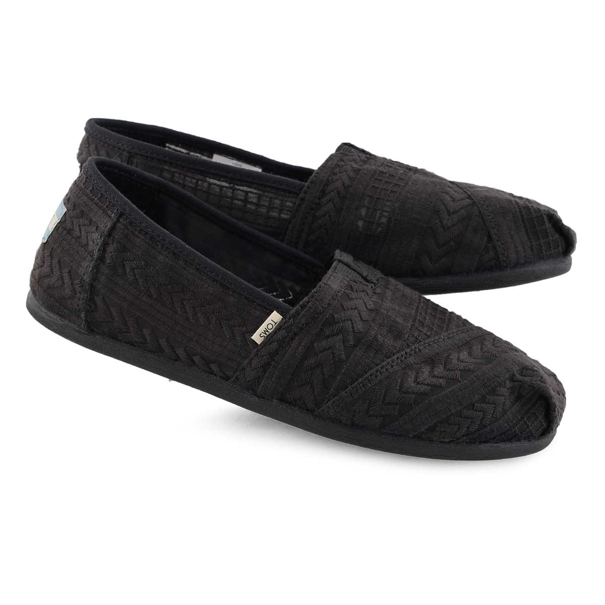 835b2a80b91d TOMS. (3). Women's ALPERGATA black casual loafers. $69.99. QUICK VIEW Add  To Bag