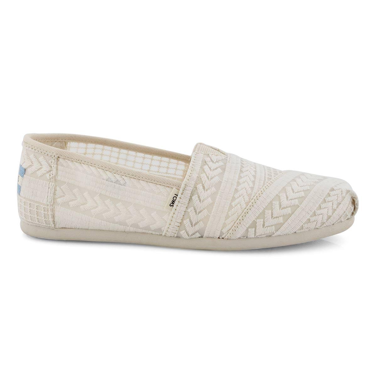 Lds Alpergata natural casual loafer