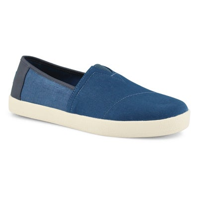 Mns Avalon majolica blue casual loafer