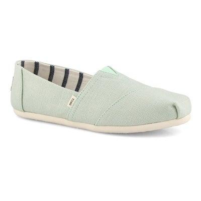 Lds Classic Alpargata mint loafer