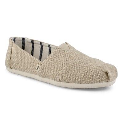 Lds Classic Alpargata natural loafer