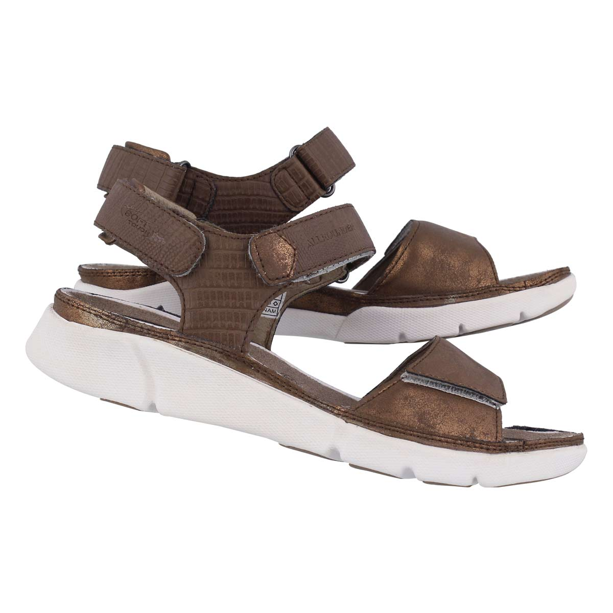 Lds Tabasa bronze casual sandal