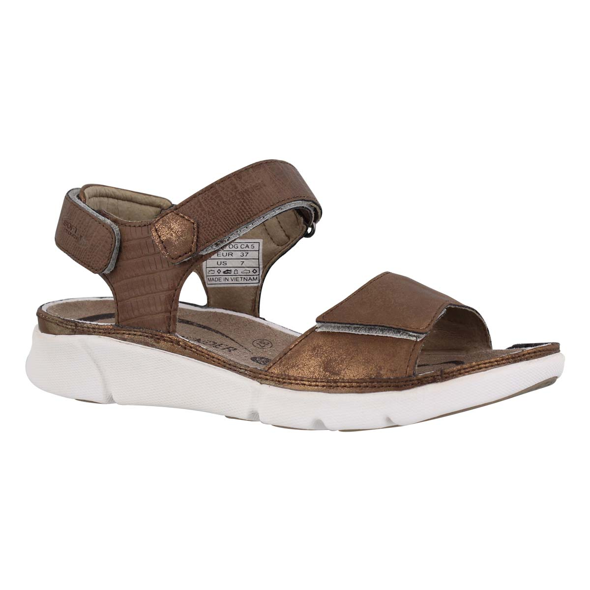 Women's TABASA bronze casual sandals