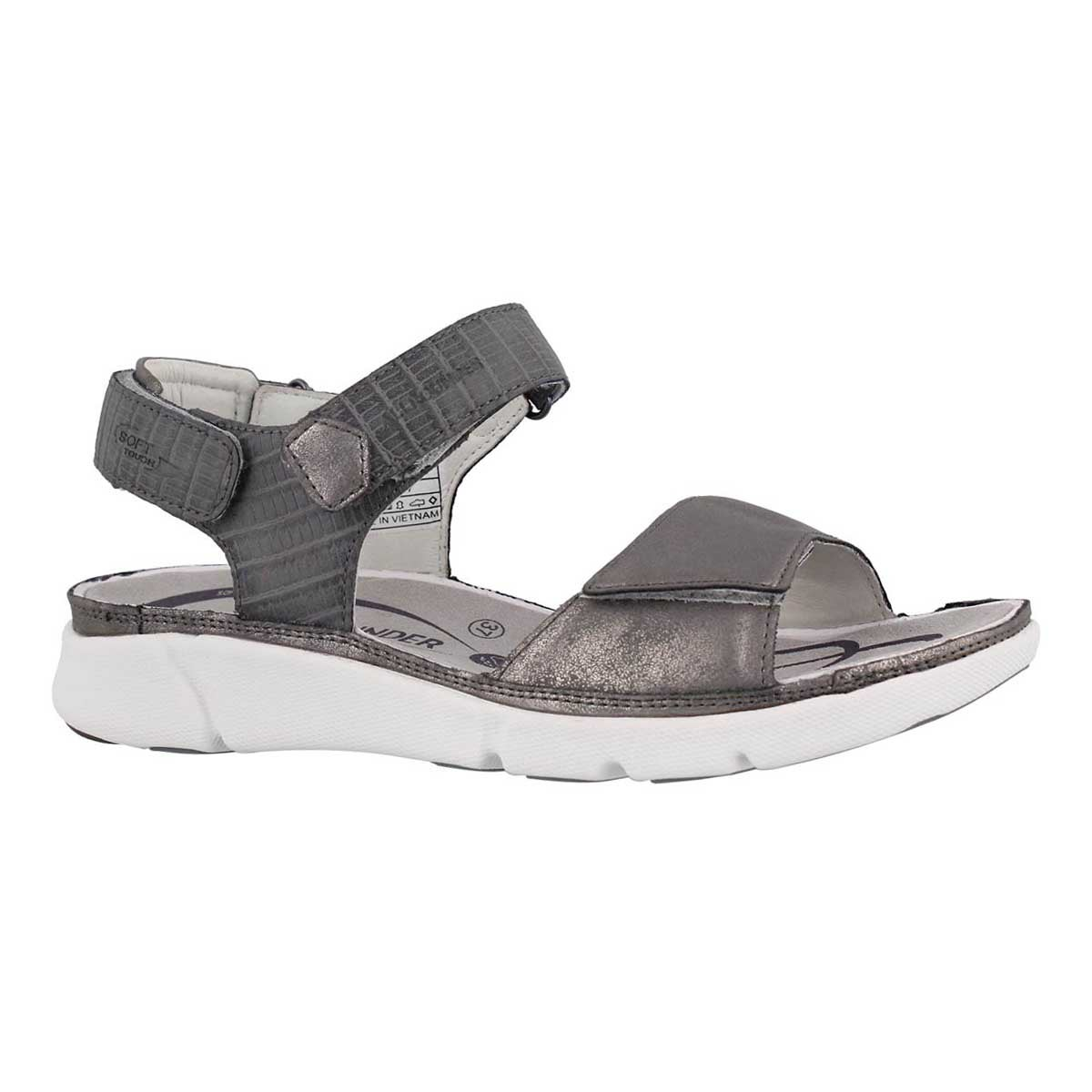 Women's TABASA pewter casual sandals
