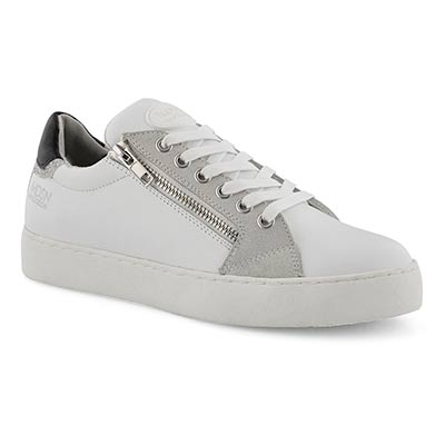 Lds Tabatha white/black casual sneaker