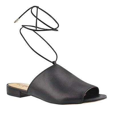 Lds Tai black casual slide sandal