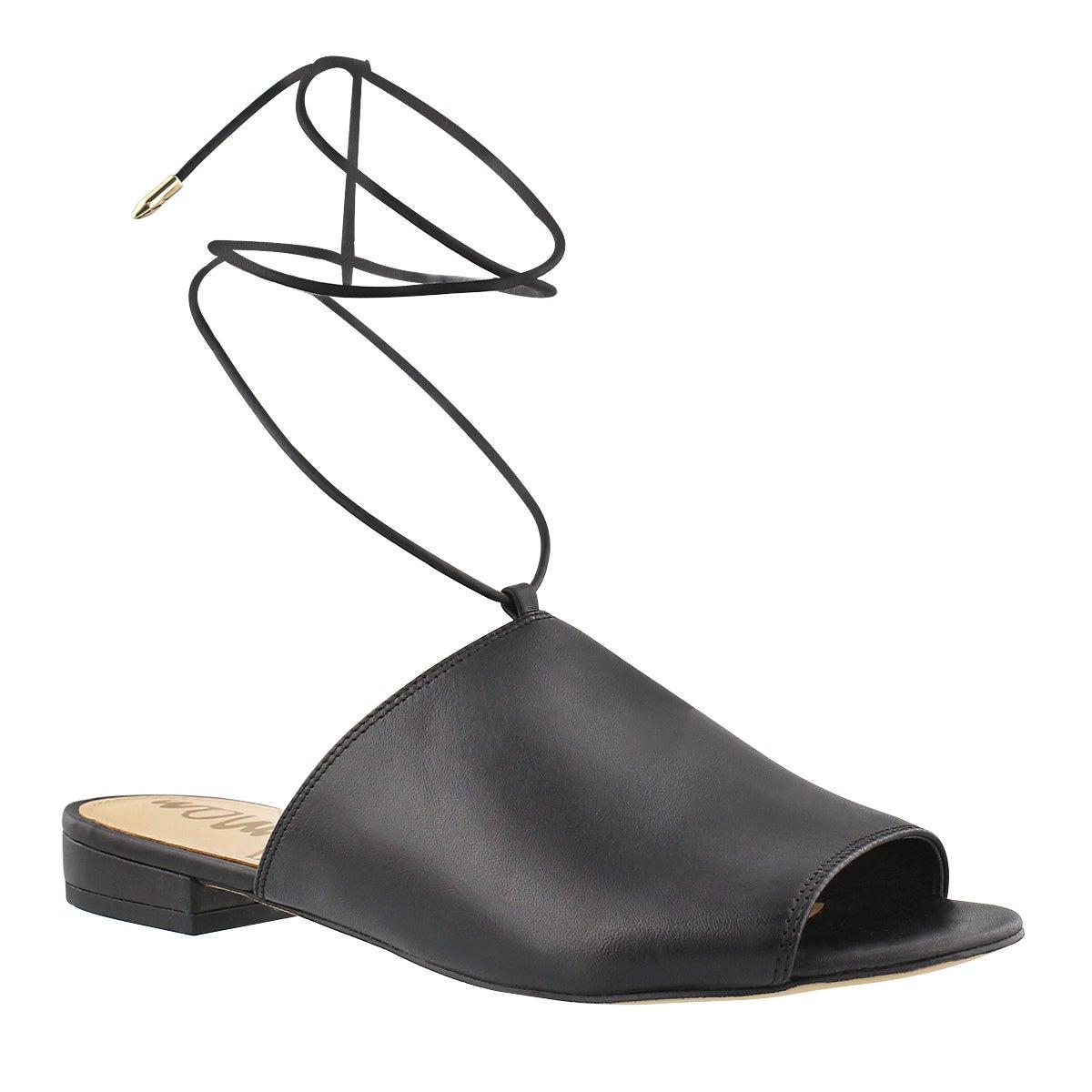 Women's TAI black casual slide sandals