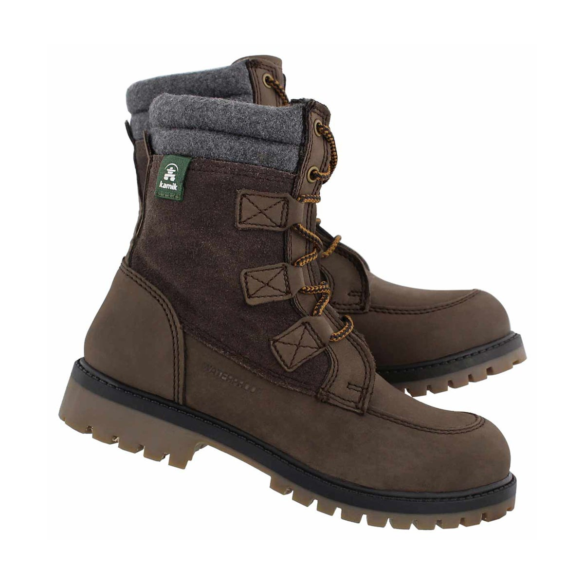 Bys Takodalo brown laceup wp winter boot