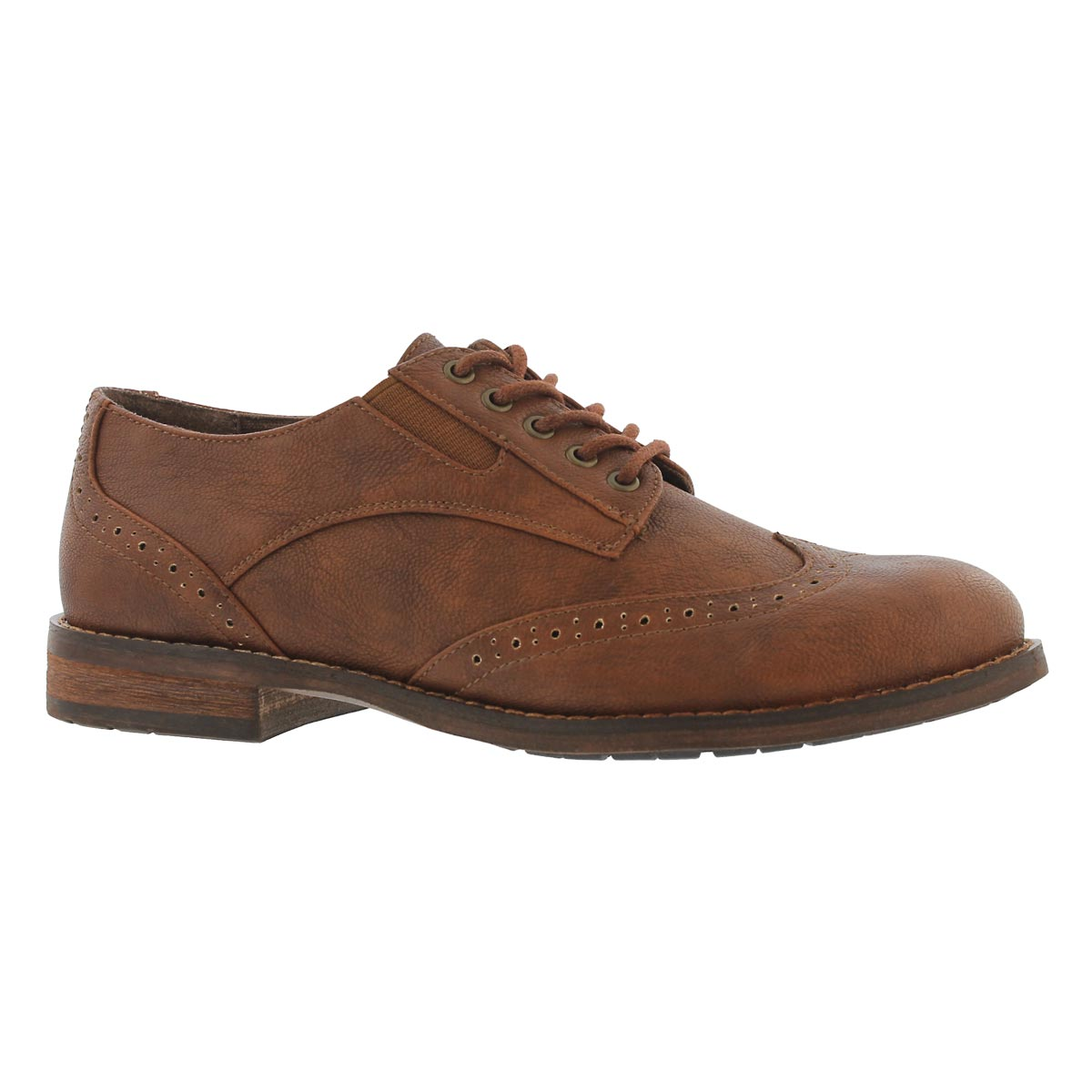 Women's TALIA tan lace up oxfords