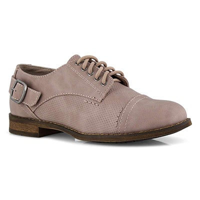 Lds Talia 2 rose lace up oxford