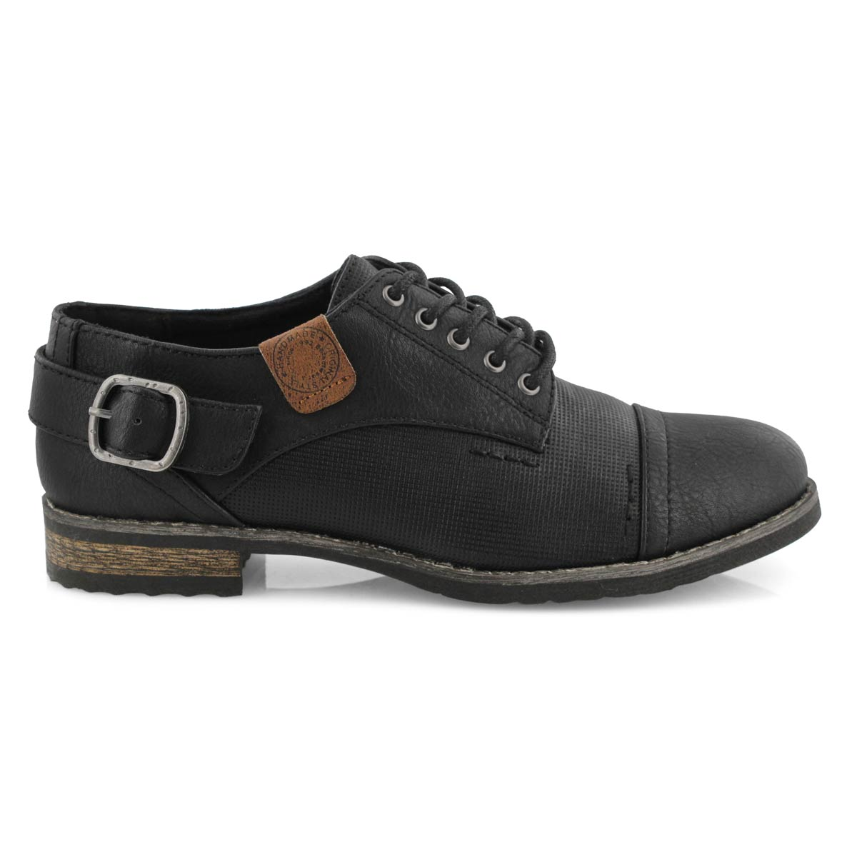 Lds Talisa 2  black casual oxford shoe