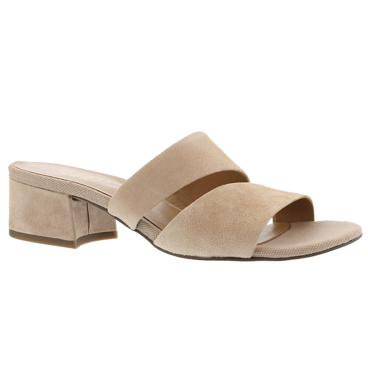 Women's TALLEN light blush slide dress sandals