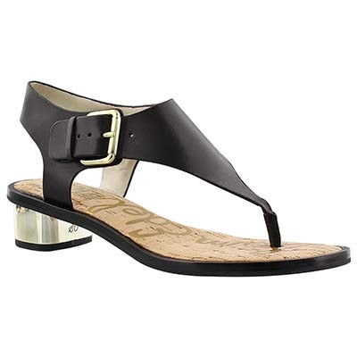 Sam Edelman Women's TALLULAH black casual sandals