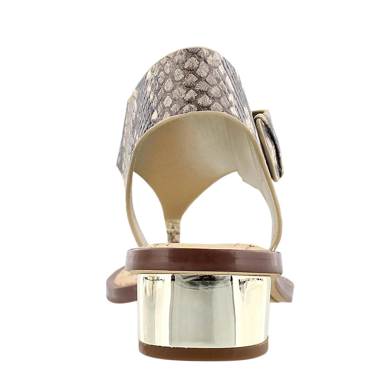 Lds Tallulah nat/pyth casual sandal