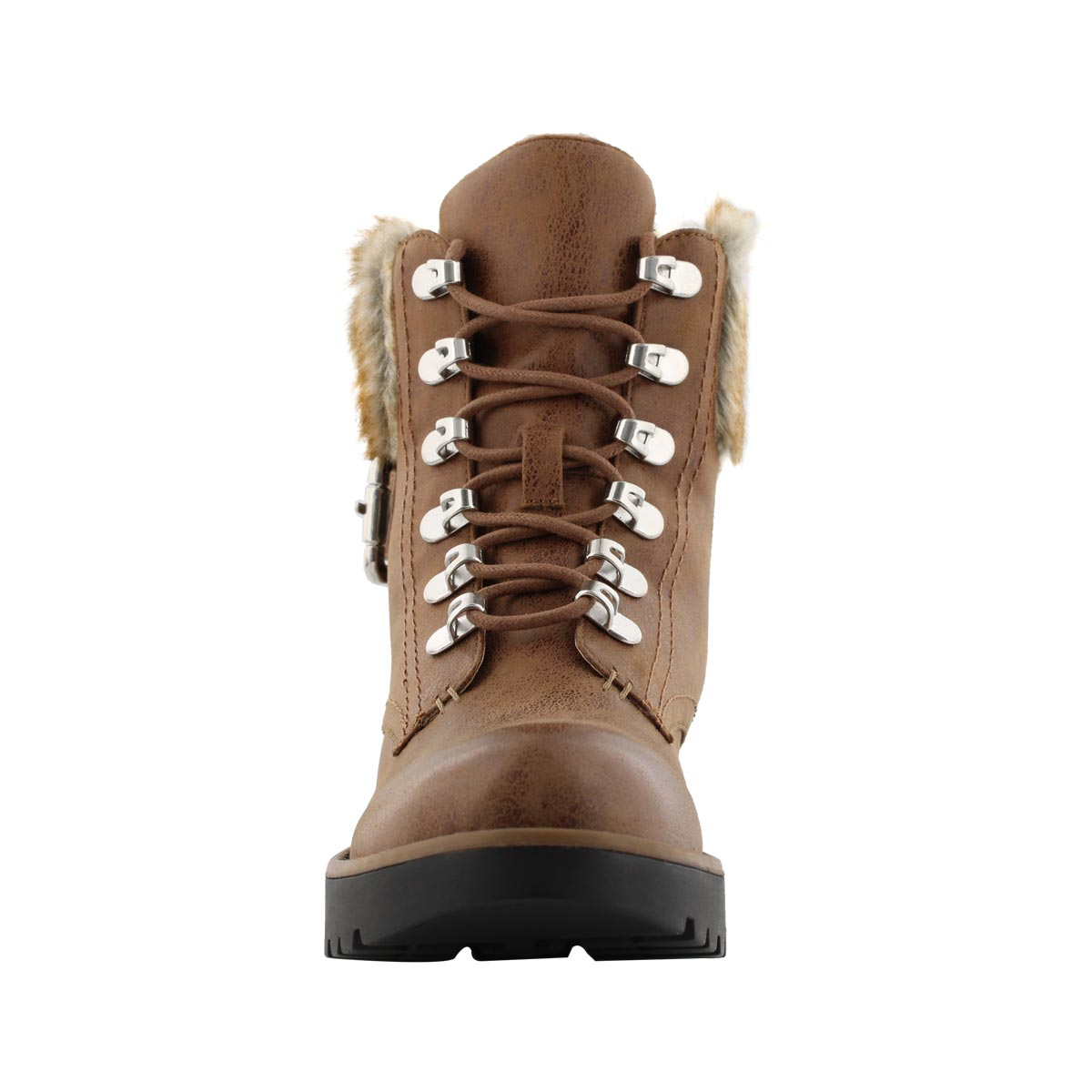 Lds Tamika tan lace up ankle boot