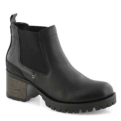 Lds Tammi black chelsea boot