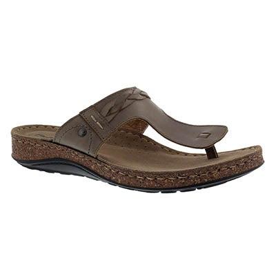 SoftMoc Women's TARI 2 mushroom thong sandals