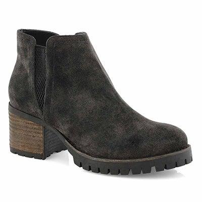 Lds Tasnim black slip on ankle boot