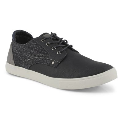 Mns Tatum black laceup casual sneaker