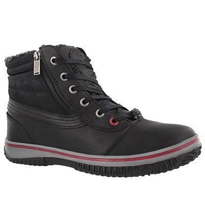Mns Tavin black wtpf winter boot
