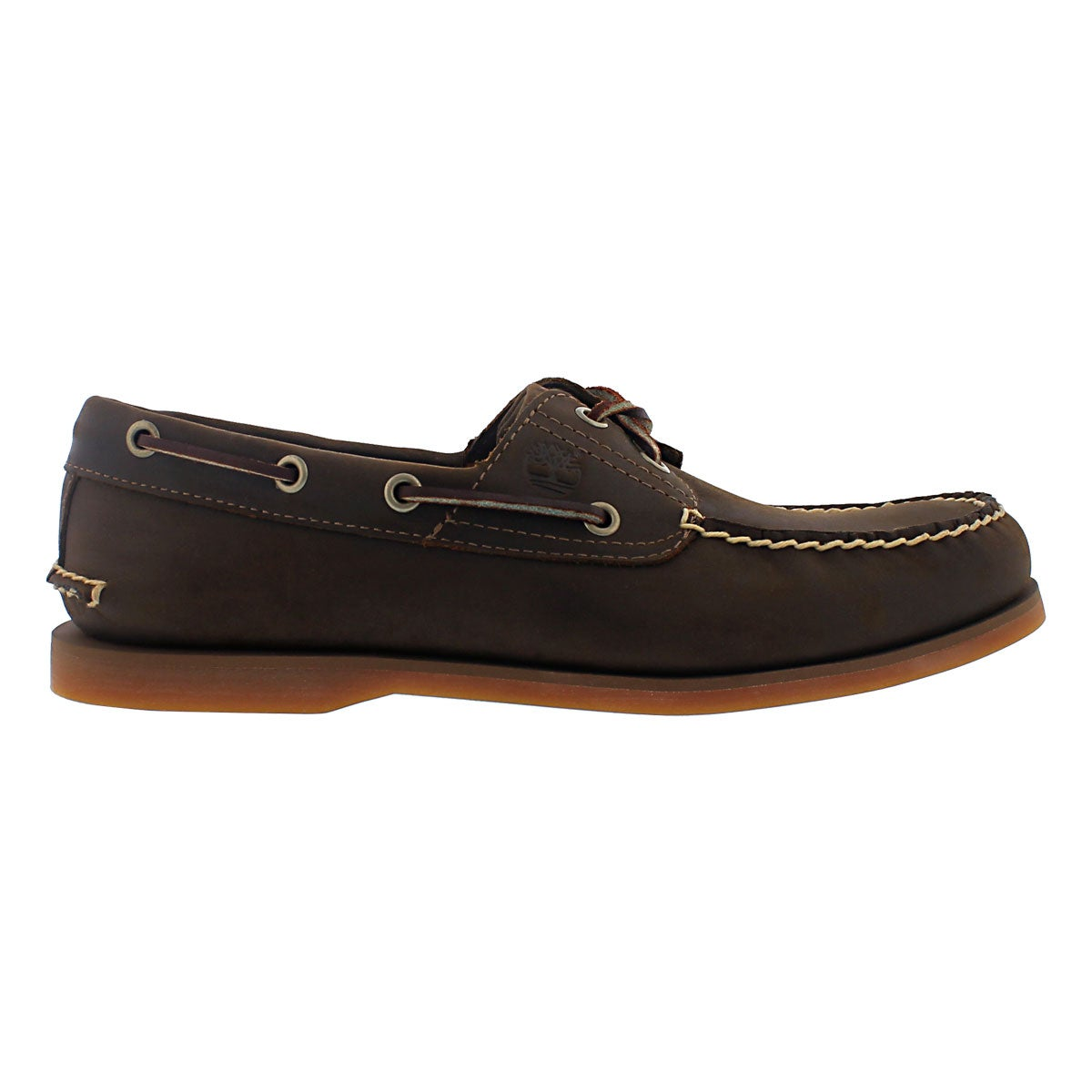 Mns Classic Boat brown 2 eye boat shoe