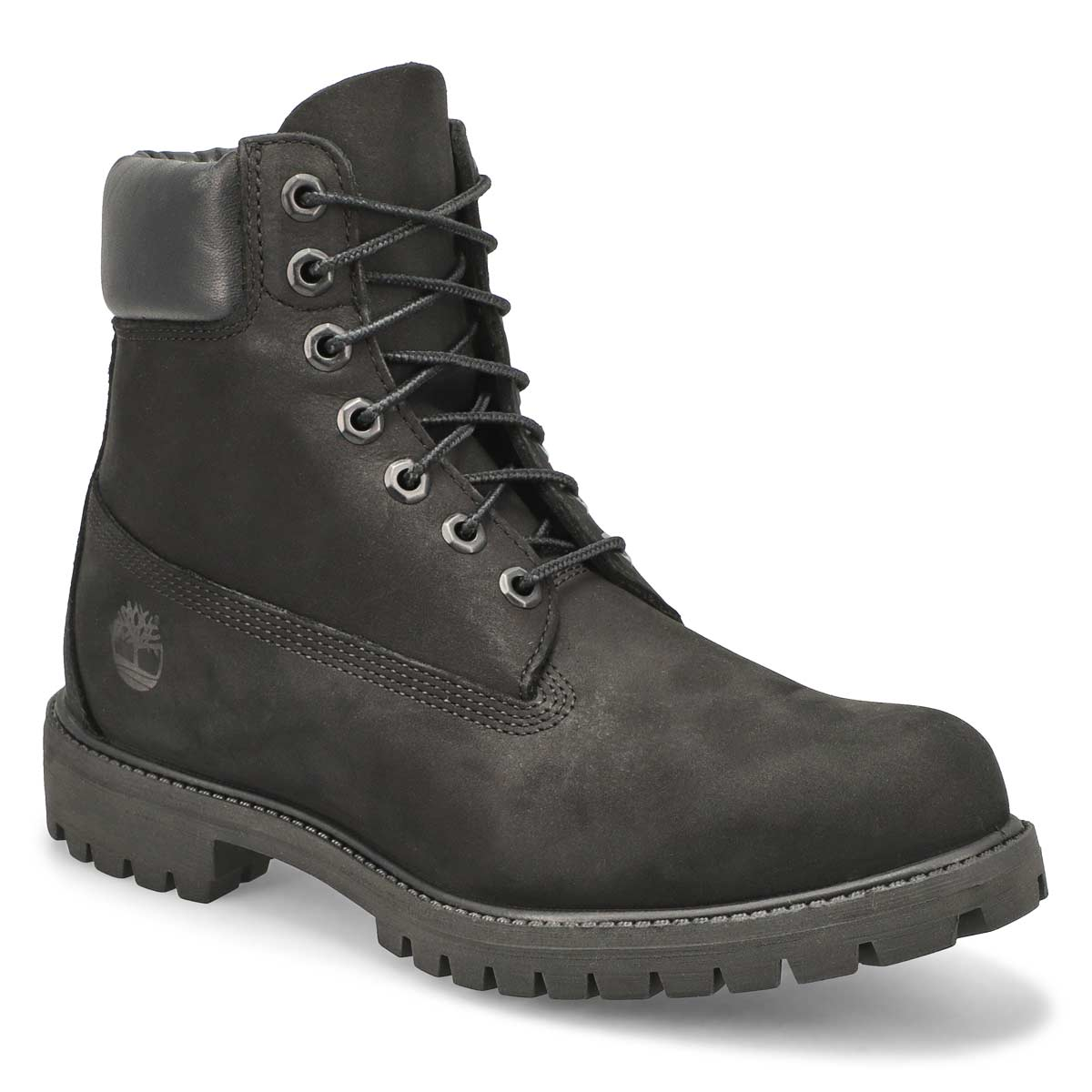 "Men's ICON 6"" PREMIUM black waterproof ankle boots"