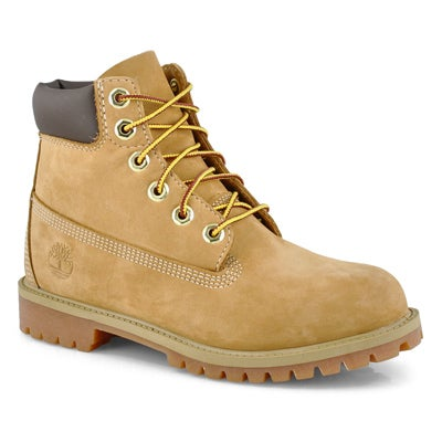 "Timberland Kids' PREMIUM 6""  waterproof wheat boots"