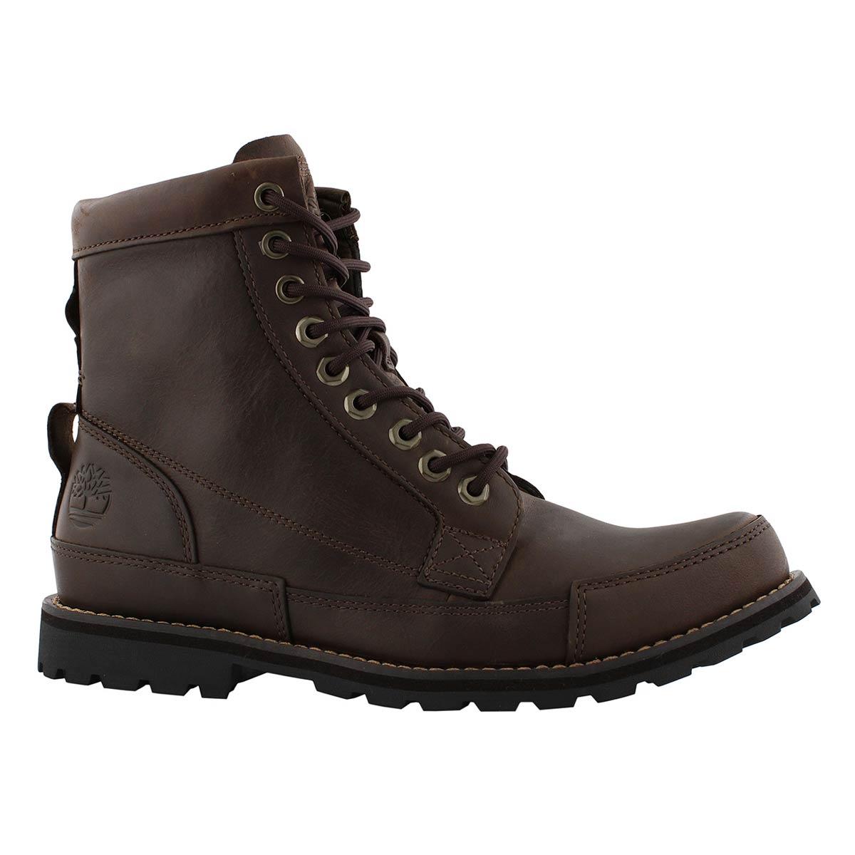 """Men's EARTHKEEPERS ORIGINAL 6"""" dark brown boots"""