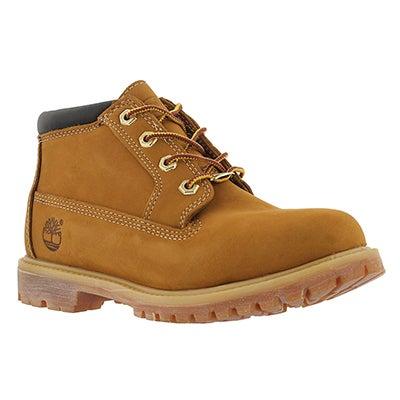 Lds Nellie wheat 4 eye chukka boot