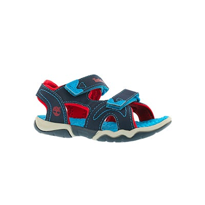Timberland Infants' ADVENTURE SEEKER navy/red sandals