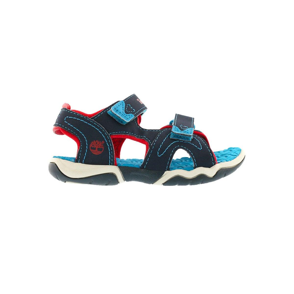 Infs-b Adventure Seeker nvy/red sandal