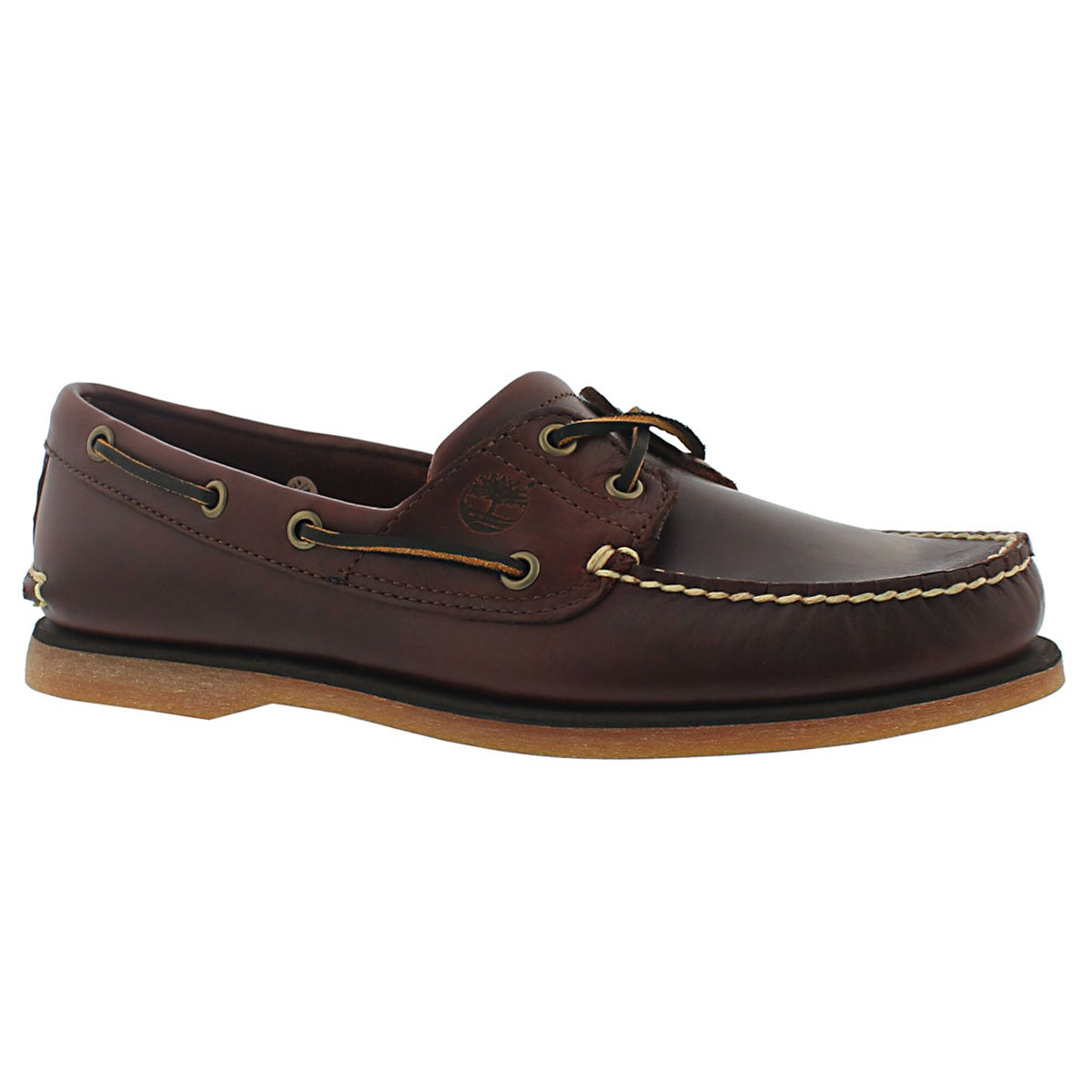 Men's CLASSIC BOAT rootbeer 2 eye boat shoes