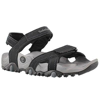 Timberland Men's NEW GRANITE TRAILRAY black sport sandals