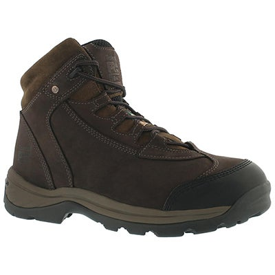 Mns Ratchet chocolate CSA boot -wide