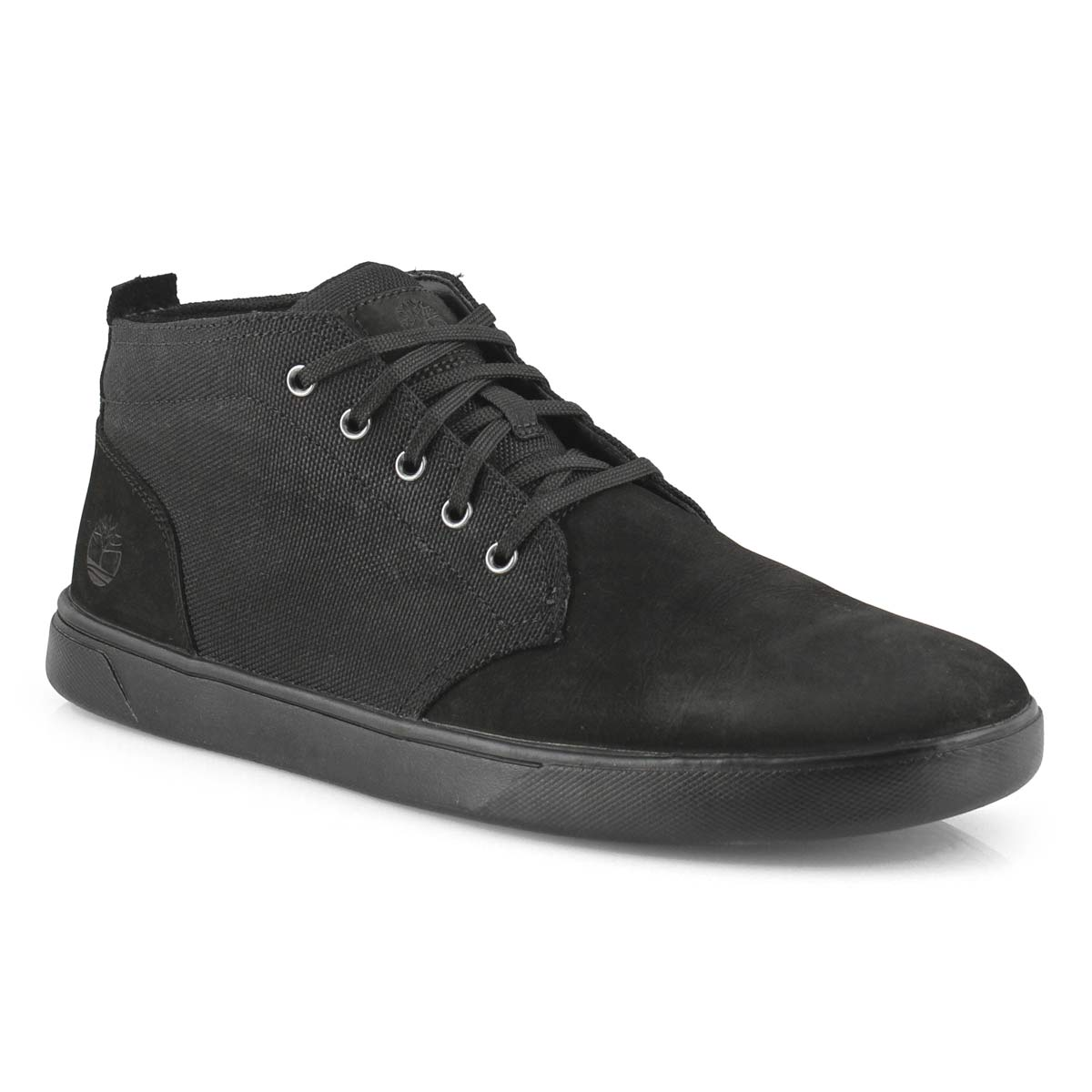Men's GROVETON black chukka boots