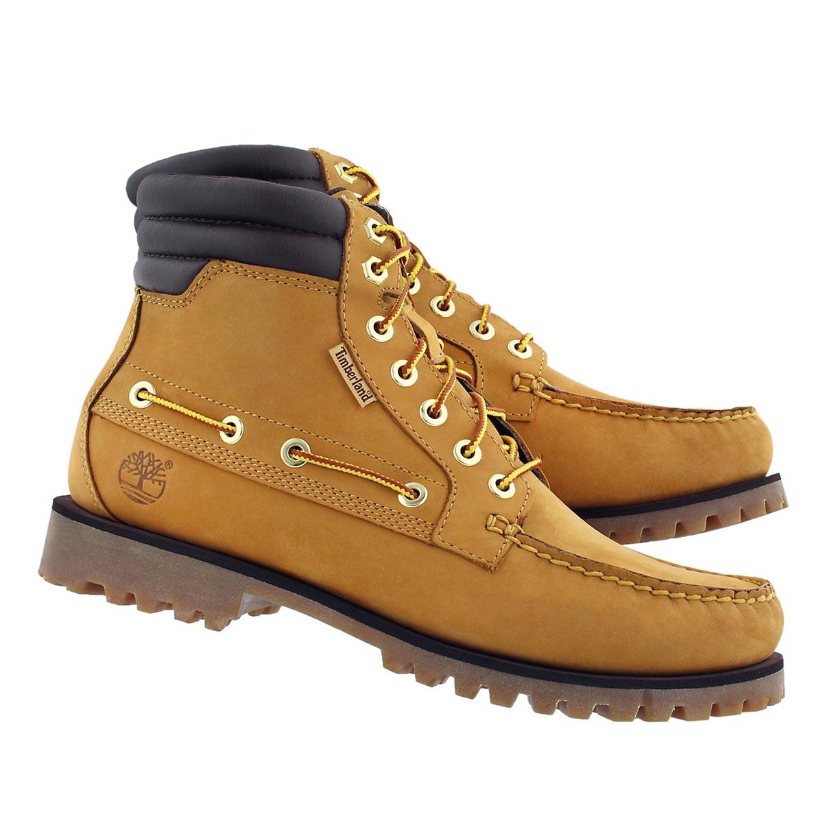 Mns Oakwell 7 eye wheat ankle boot