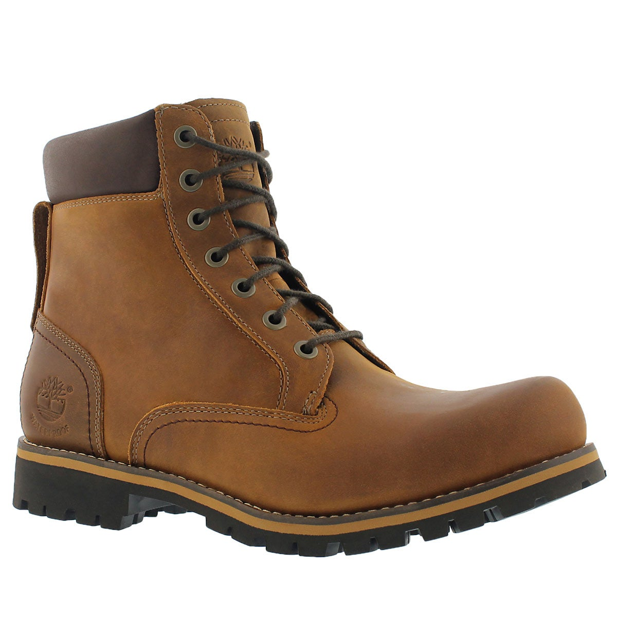 Men's TIMBERLAND RUGGED copper waterproof boots