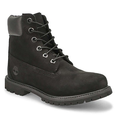 "Timberland Women's ICON 6"" PREMIUM black boots"
