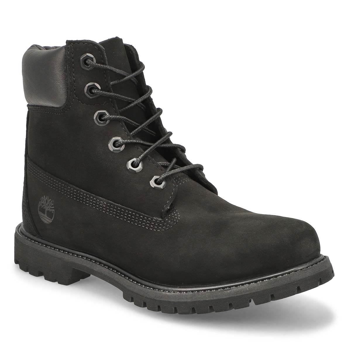 "Women's ICON 6"" PREMIUM black boots"