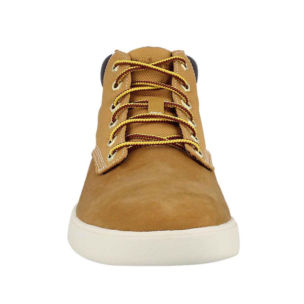 Mns Groveton Plain Toe wheat chukka boot