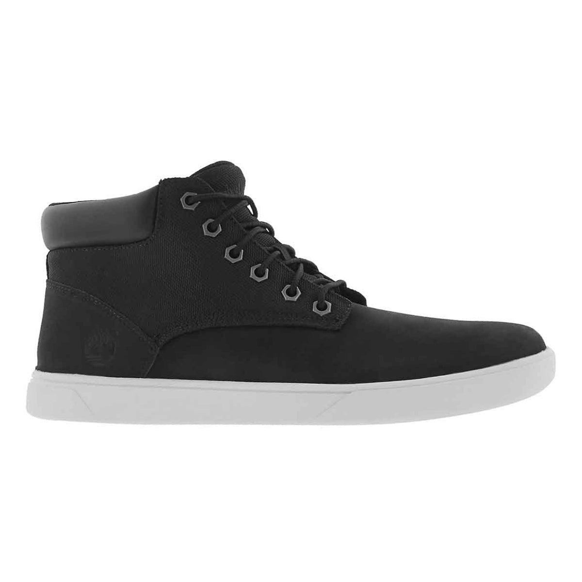 Mns Groveton Plain Toe black chukka boot