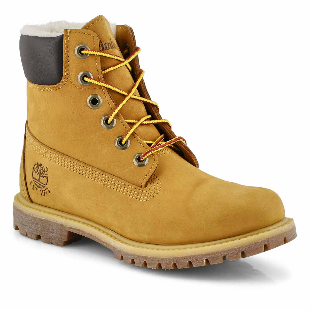 "Women's PREMIUM 6"" wheat waterproof ankle boots"