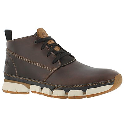 Timberland Men's WARF DISTRICT brown lace up chukka boots